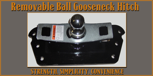 Removable Ball Gooseneck Hitch